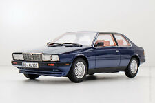 Minichamps 1982 MASERATI BITURBO COUPE Dark Blue Met. 1/18 Scale New! In Stock!