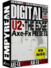 U2 The Edge Axe-Fx Ultra Standard ULTIMATE Guitar Presets Library Mac Windows