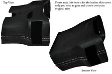 GREY STITCH STEERING SHROUD LEATHER COVER FITS PORSCHE 986 BOXSTER&CARRERA 996