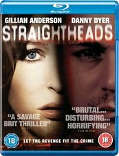 New Sealed Straightheads Blu-Ray Disc Brand Gillian Anderson Danny Dyer REGION B