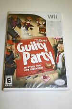 Disney Guilty Party  (Nintendo Wii, 2010) *Sealed*