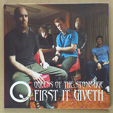 "QUEENS OF THE STONE AGE - First it giveth ***RED 7""-Vinyl***NEW***"