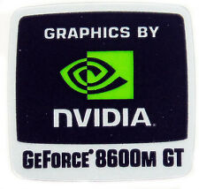 NVIDIA GEFORCE 8600M GT  STICKER LOGO AUFKLEBER 18x18mm (246)