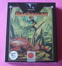 Sinclair ZX Spectrum - Psygnosis BARBARIAN w/Booklet 1988 *NEW & SEALED!