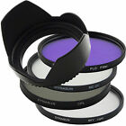 Set 55mm Multi Coated UV Filter 55 + Circular CPL + Sky +Fluorescent +Tulip