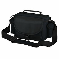 ALX Black Camera Case Bag for Canon EOS 650D 600D 550D 500D 450D 7D 5D