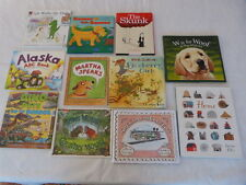 11 Children's High End Books Hardcover w/ Jackets Animals Dogs Dinosaurs Large