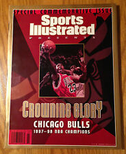 Michael Jordan SI Sports Illustrated 6/17/98 Crowning Glory Bulls NBA Champions