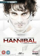 HANNIBAL COMPLETE SERIES 2 DVD BOX SET ALL EPISODES LECTER LECTOR SEASON SEALED