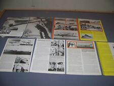VINTAGE..CF-105 ARROW (PART 2)...HISTORY/PHOTOS/DETAILS..RARE! (41G)