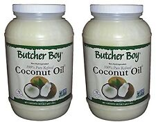 Butcher Boy 76°f 100% Pure Refined Coconut Oil (2x1 Gallon)