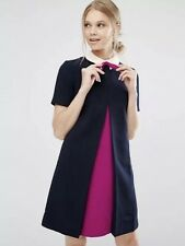 Ted Baker New Season Contrast Pleat Bow TunicDress SZ3 UK12 get 10%off see below