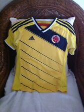 Adidas Colombia Yellow Soccer/futbol  Jersey Size M Youth
