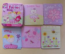 "** Childs FATE ""SNAP"" CARD GAME - 26 carte per 2-4 giocatori ** nuovo di zecca in latta"