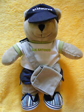 Starbucks LOCAL San Antonio plush bear collectible