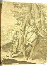 Tobias et l'Ange and the Angel d'ap Raphel Motta dit Raffaellino da Reggio c1600