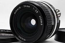 [Excellent+++++] Nikon Ai NIKKOR 24mm f/2.8 MF Lens w/Filter From Japan #128