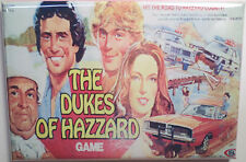 "Dukes of Hazzard Board Game Box 2""x3"" MAGNET Refrigerator Locker Retro"