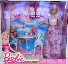 COFFRET BARBIE ET SHELLY / TEA TIME / L'HEURE DU THE / 19 PIECES
