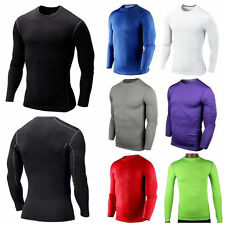 New Men Warm Thermal Under Compression Baselayer Gym Legging T-Shirt Pants Skins