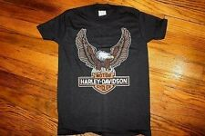 youth M / XXS * NOS vtg 70s/80s HARLEY DAVIDSON eagle motorcycle T SHIRT