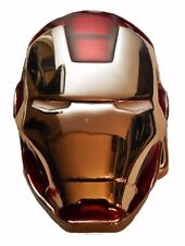 Marvel Comics IRON MAN Helmet Enamel Finish Metal BELT BUCKLE