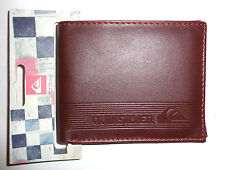 MENS QUIKSILVER BIFOLD BROWN WALLET