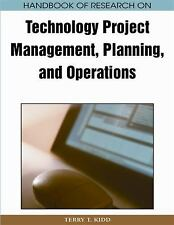 Handbook of Research on Technology Project Management, Planning, and-ExLibrary