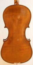 old violin 7/8 or 4/4 geige viola cello fiddle label JO BAP ROGERIUS