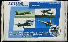 Anigrand 1/144 GERMAN EXPERIMENTAL VTOL AIRCRAFT SPECIAL SET