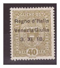 VENEZIA GIULIA 1918 - 40  HELLER   NUOVO   *