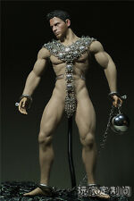 "1/6 Custom metal Clothing Slave Clothes For 12"" Phicen Male M31 Figure Body"