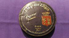 Boite Métallique Vintage « Pruneaux Fourrés – A La Prune D'Agen » Bon Etat