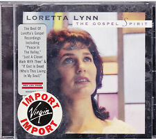CD 14T LORETTA LYNN THE GOSPEL SPIRIT BEST OF 2004 NEUF SCELLE