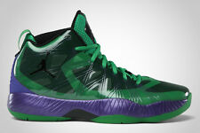 MEN'S NIKE AIR JORDAN 2012 LITE SHOES SIZE 10.5 green black purple 524922 362