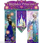 DISNEY'S FROZEN Anna & Elsa BANNER DOOR BANNER PX BIRTHDAY PARTY supplies FREE S