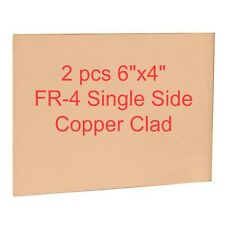 2 pcs Copper Clad 6 inch x 4 inch (15 cm x 10 cm) for PCB making (Single Sided)