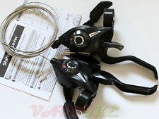 Shimano ST-EF51 3x7 Speed MTB Shifter/V-Brake Lever set Black