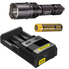 Nitecore TM03 Flashlight -2800Lm -Includes 1x IMR18650D Battery & SC2 Charger