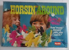HTF Rainbow Research Play Doh Horsin' Around Spin & Win Horse Race Carousel Game