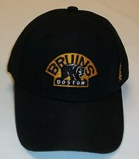Boston Bruins NHL Hockey Reebok Cap NEU One Size 9forty Klett Velcro Eishockey