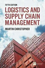 LOGISTICS & SUPPLY CHAIN MANAGEMENT NEW PAPERBACK BOOK