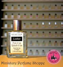 LEATHER - NEW! DEMETER FRAGRANCE LIBRARY - 15 ml Cologne
