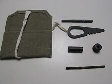 Mosin Nagant 91/30 Rifle Cleaning Kit With Pouch! Real Commie Equipment!!