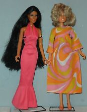 """Vintage Dolls Mego Cher Bono Farrah Fawcett Charly's Angels Celebrity about 12"""""""