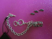 Religious Prayer Box Toggle Bracelet With 3 Removeable Charms