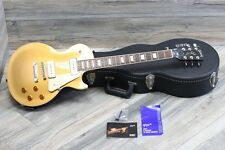 Rare 2012 Gibson Les Paul Traditional Pro Goldtop With P90s Super Clean Case