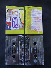 HITS OF THE 60'S AUSTRALIAN DOUBLE CASETTE TAPE! BILLY THORPE DONOVAN EASYBEATS