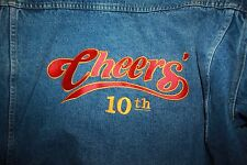 Cheers television personalized Cast denim Jacket Joyce Berke 10 Year Anniversary