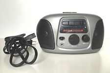 ELECTRO BRAND PORTABLE AM FM RADIO CASSETTE PLAYER  As Is or Replacement Parts
